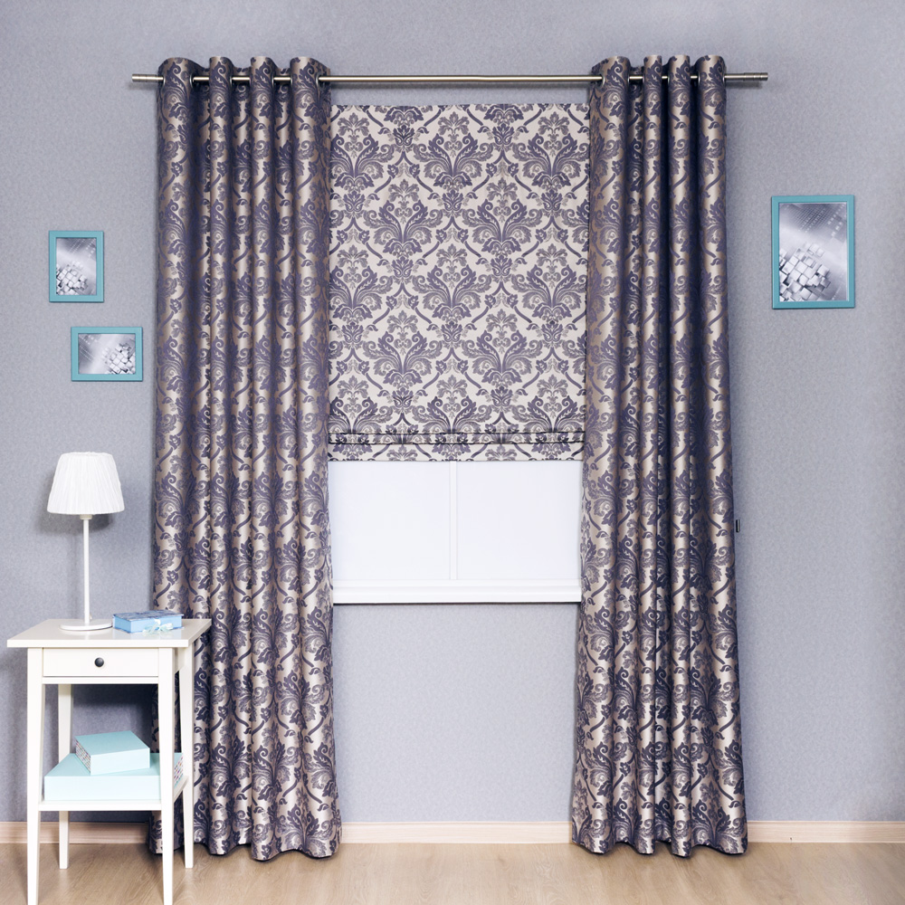 Roman-blind-and-grommet-curtains-set-Brenda-22